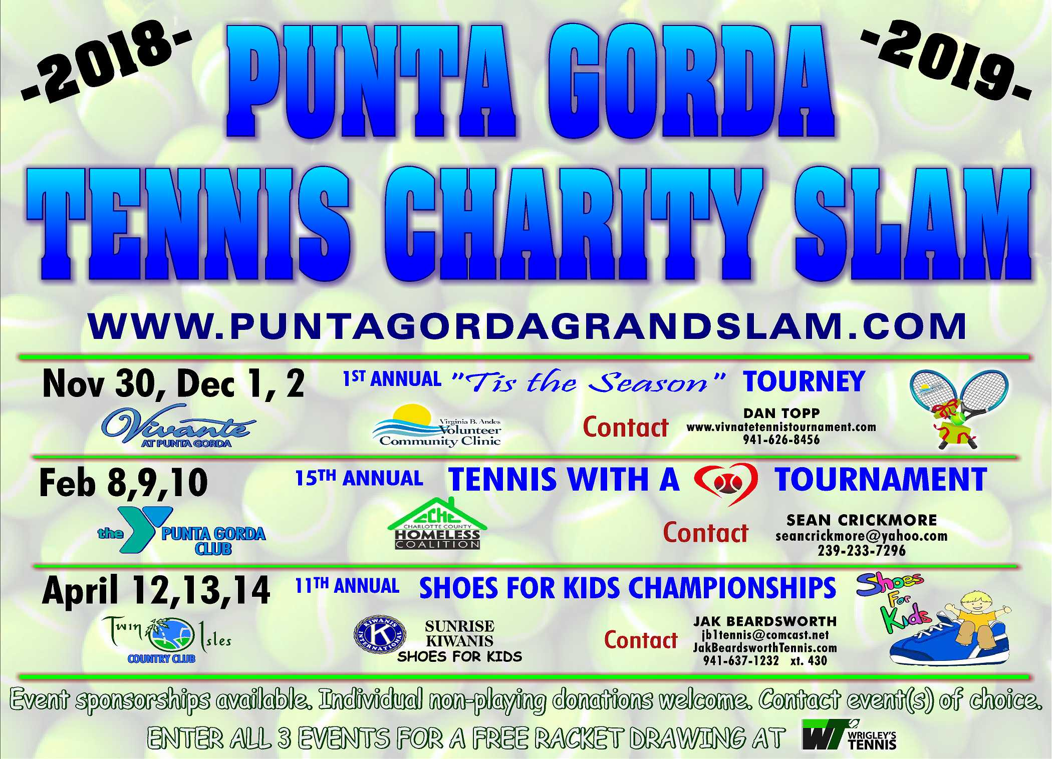 2018 / 2019 Punta Gorda Tennis Charity Grand Slam