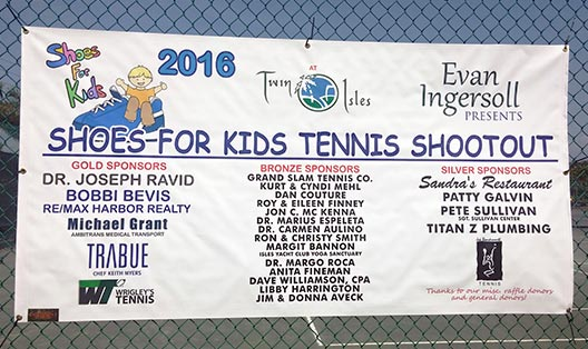 Shoes For Kids sponsor banner